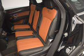 orange bentley bentayga 2018 bentley bentayga activity edition now with seating for 7