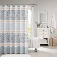 Cotton Shower Curtains Park Cotton Shower Curtain Free Shipping On