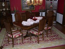 area rug size for dining room what size rug to use for your dining