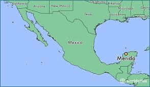 map of mexico yucatan region where is merida mexico merida yucatan map worldatlas