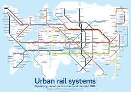 Cool Maps Of The World by Cool Transit Maps Urban Architecture Now