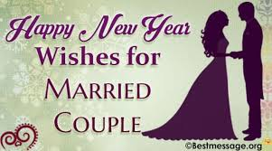 new marriage wishes happy new year wishes and messages for married couples 2018