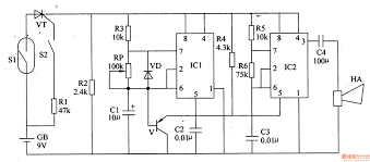 power failure alarm circuit wiring diagram components