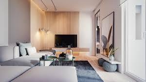 Contemporary Home Interior Contemporary Home Style Design Using Wooden Material As The Main Decor