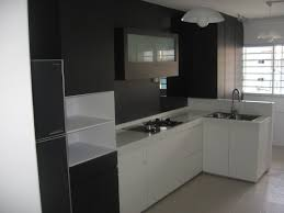 exciting kitchen cabinets design for hdb flat dazzling kitchen