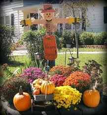 fall outside decorations cheap decorating ideas