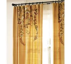 interior simple and chic decoration with blue curtain windows and