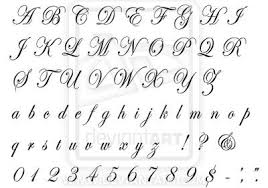 tattoo designs cursive letters u2013 skin arts within cursive letters