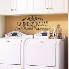 laundry today quote home laundry room vinyl wall sticker removable laundry today quote home laundry room vinyl wall sticker removable art decal 5 49