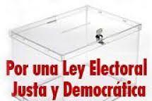 Por una ley electoral justa