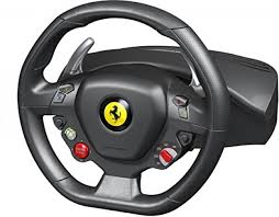 thrustmaster xbox 360 thrustmaster 458 racing wheel for xbox 663296417336 ebay