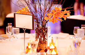attractive fall wedding table centerpieces fall table decorations