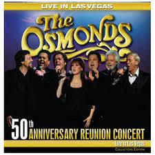 50th anniversary photo album the osmonds 50th anniversary reunited live in las vegas cd