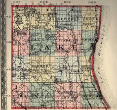 Illinois Map With Counties by Lake County Illinois Maps And Gazetteers