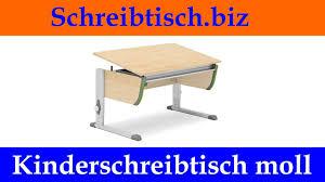Schreibtische Jugendschreibtisch Moll Schreibtisch Höhenverstellbarer Kinderschreibtisch Youtube