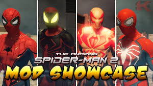 amazing spider man 2 mod showcase homecoming unlimited all new