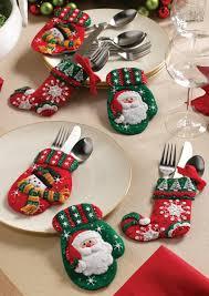 cool christmas cutlery stocking creative christmas silverware