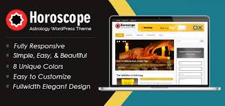 zodiac themes for android horoscope astrology fortune telling wordpress theme inkthemes