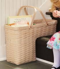 practical step stair basket longaberger basket bliss