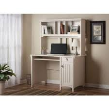 amazon com salinas computer desk with hutch in antique white