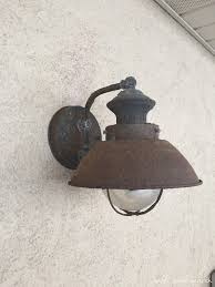 our new nautical rust proof outdoor light fixtures table and hearth