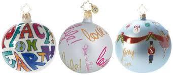 charitable tree decorations christopher radko
