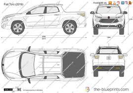 fiat toro the blueprints com vector drawing fiat toro