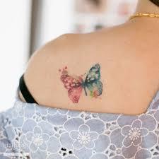 beautiful butterfly on shoulder butterfly ideas