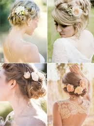 wedding flowers in hair 50 wedding hairstyles using flowers