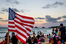 American Flag Watches Fourth Of July Beach Rescue Leadership And Heroism Fortune