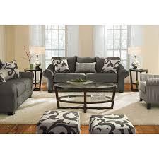 City Furniture Living Room Set Colette Sofa Gray Upholstery Herringbone And City Furniture