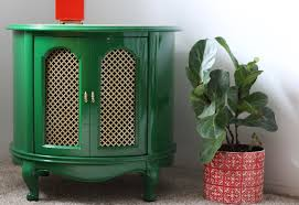Green Accent Table Rescued Accent Table Painted Bottle Green By Fine Paints Of Europe