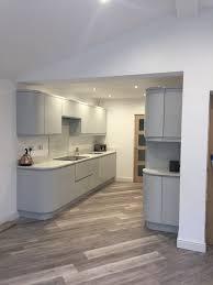 dove grey paint kitchen cabinets an innova luca gloss dove grey kitchen real customer