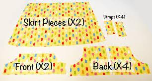 shirt pattern cutting pdf summer breeze baby dress free pdf pattern shwin and shwin