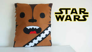 star wars craft chewbacca pillow mery youtube