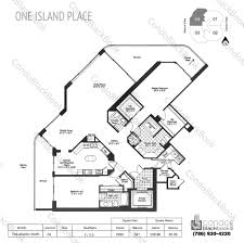 one miami floor plans search one island place condos for sale and rent in aventura