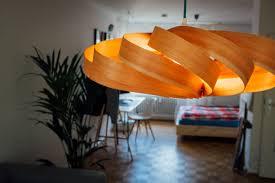 Wohnzimmerlampe Bauen Ghostbastlers U2013 Holzfurnierlampe