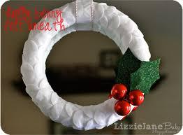 20 crafty days of felt wreath see craft