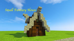 learn how to build a small fantasy house in minecraft