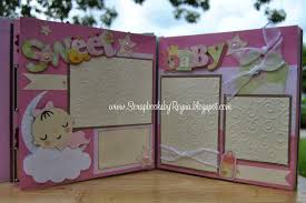 baby girl scrapbook album scrapbooks by reyna baby girl year scrapbook album zoo theme