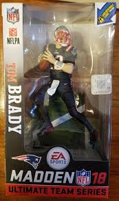 mcfarlane nfl ea sports madden 18 series 1 tom brady color rush
