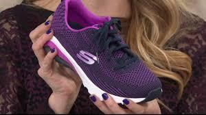 skechers sport skech air lace up sneakers varsity awaken on qvc