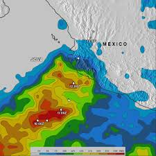 Map Of Cancun Mexico by Nasa Tropical Systems Bring Heavy Rain To Mexico And Central America