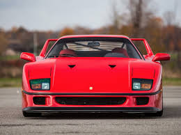 ferrari f80 prototype throwback thursday ferrari f40 all car leasing