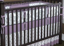 Purple Nursery Bedding Sets Purple Crib Bumper Image Of Affordable Baby Bedding Sets