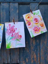 Flowers Paducah Ky - whimsy watercolor flowers fun make paducah