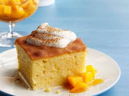 tres leches cake with mango recipe homemade whipped cream