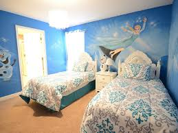 olafthemed bedroom bath magical house with frozen themed