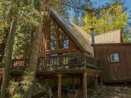 beautiful wooden two story a frame cabin on vrbo