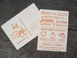 wedding save the date postcards seaside press letterpress wedding save the date postcards